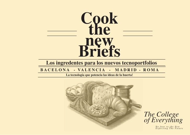 Cook the new briefs!