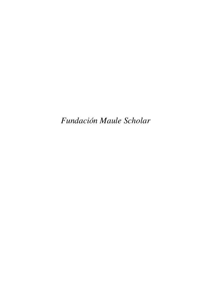 Dossier corporativo de_maule_scholar