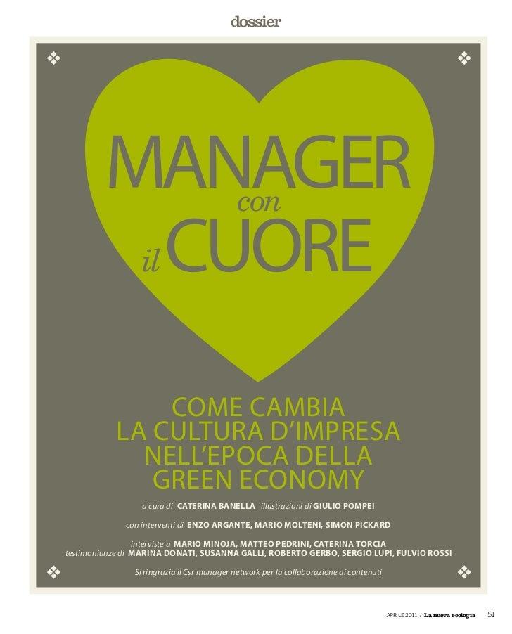 dossier        manager                             con         Cuore   il               Come Cambia           la Cultura d...