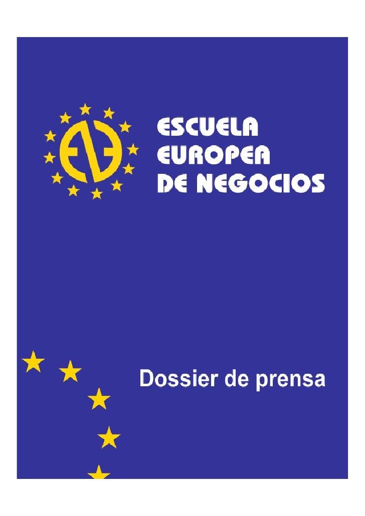 Dossier de Prensa EEN