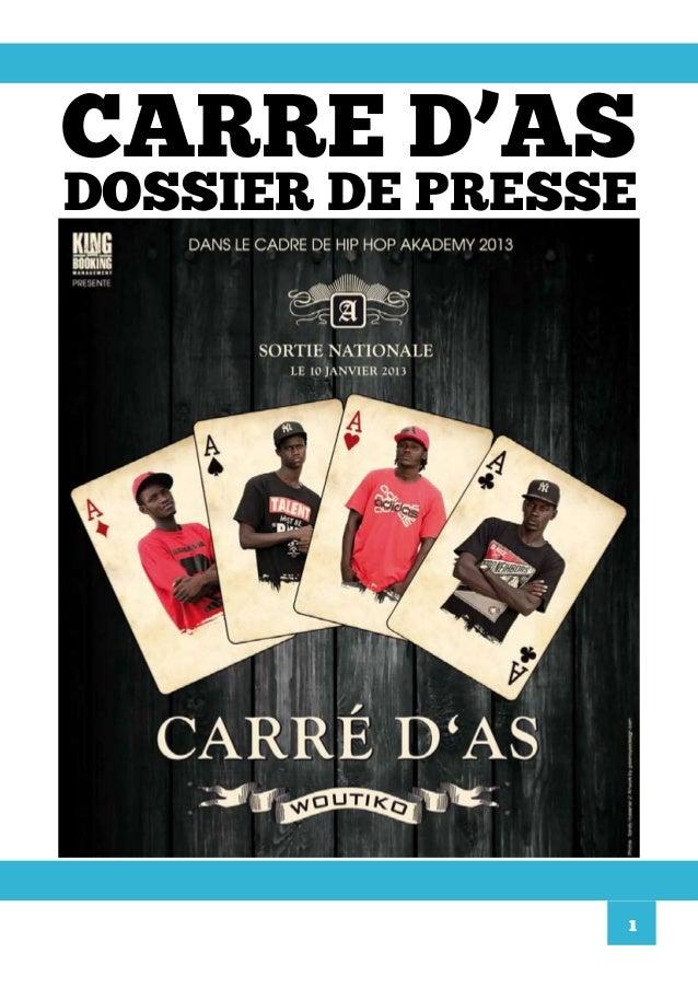 CARRE D'ASDOSSIER DE PRESSE                1