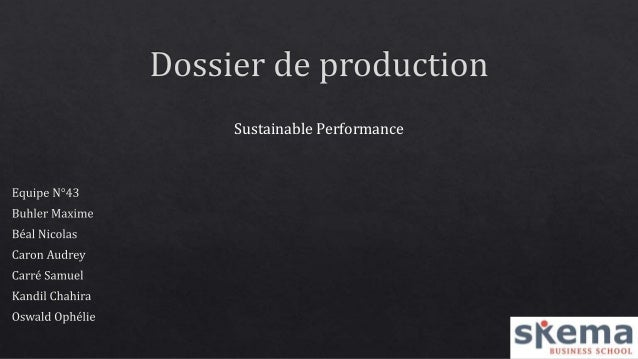 Sustainable Performance