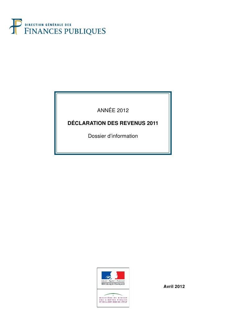 Dossier dinformation dgfip
