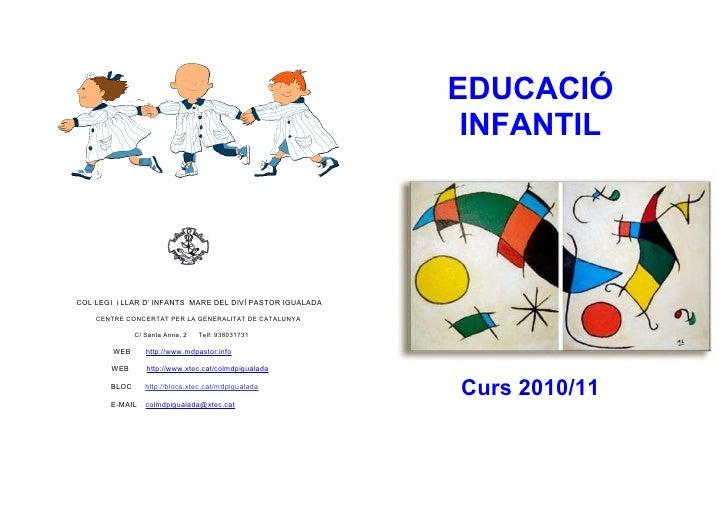 Dossier ed.infantil 10 11