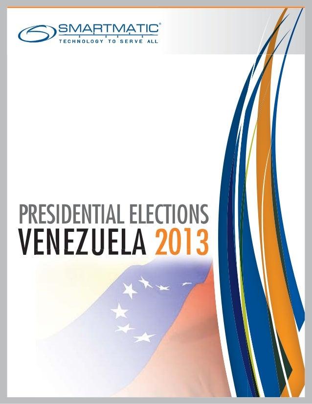 Dossier Presidential Elections Venezuela 2013