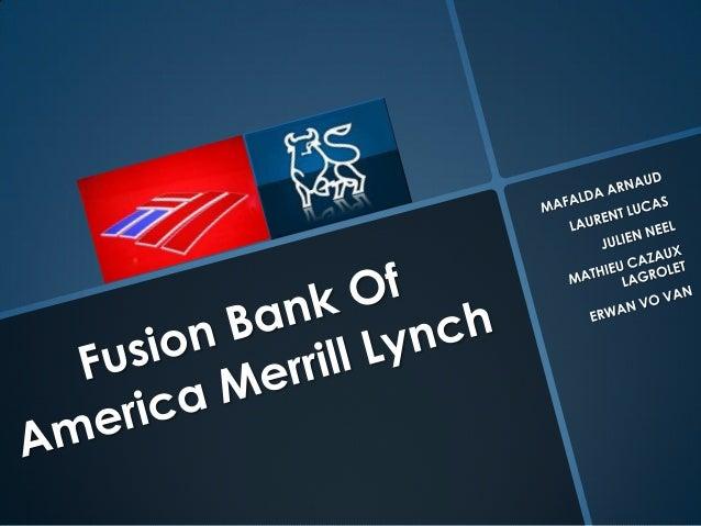 Bank of America – Merrill Lynch Acquisition - WordPress.com