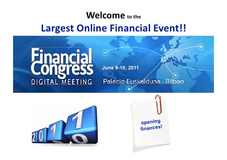 Dossier Financial Congress Digital Meeting 2011