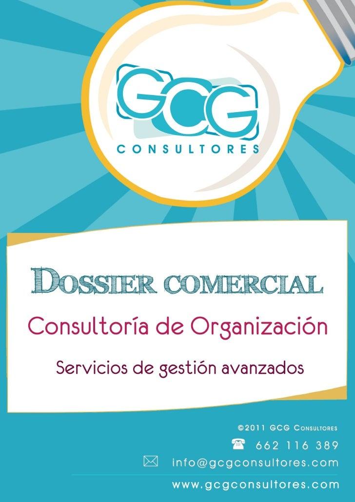 GCG C ONSULTORES                                                      BREVE DESCRIPCIÓN       DE LA EMPRESA         GCG Co...