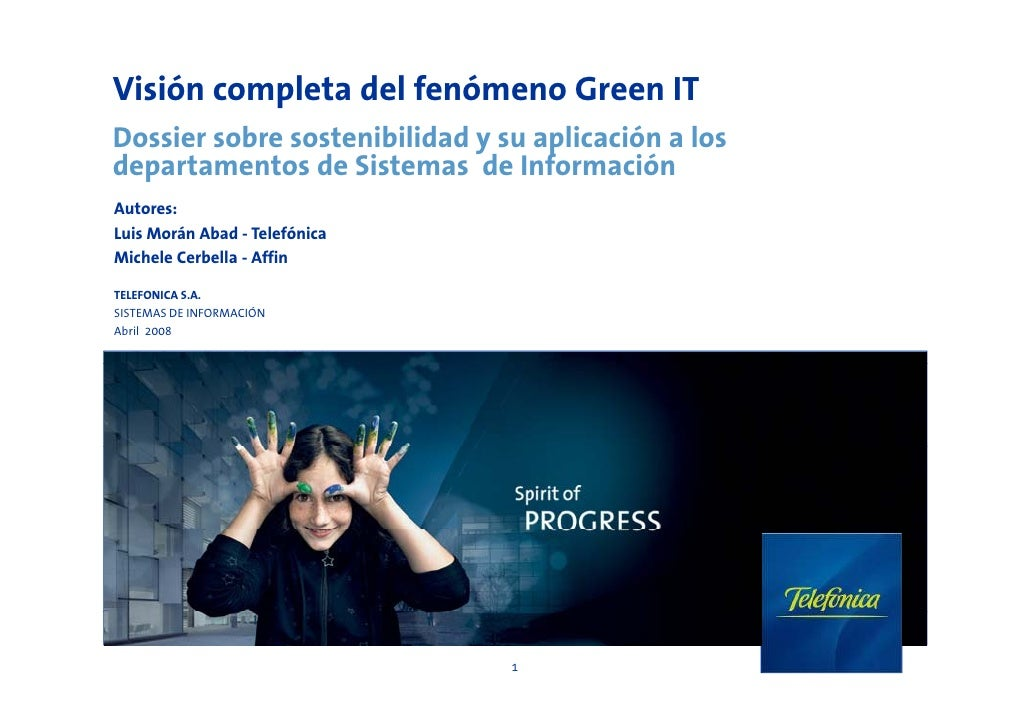 Dossier green it telefonica v3