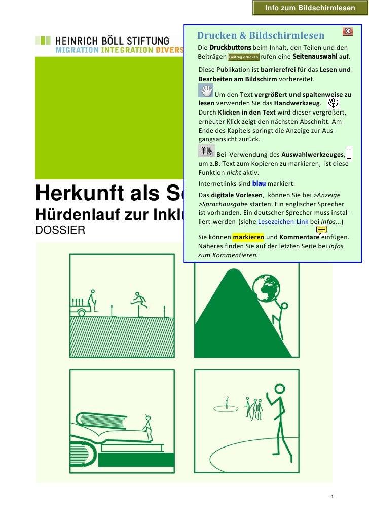 Info zum Bildschirmlesen                       Drucken &Bildschirmlesen                     Die Druckbuttons beim Inhalt,...