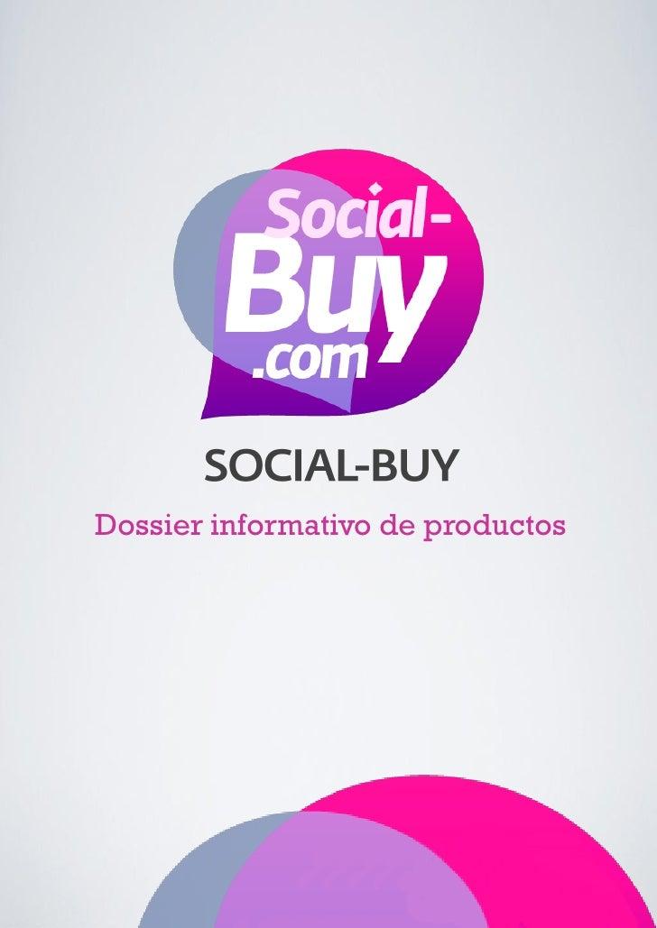 Dossier informativo de productos social buy