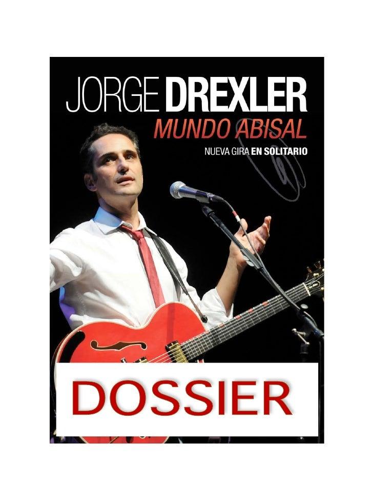Dossier Jorge Drexler