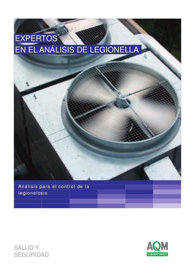 Dossier de analisis de Legionella