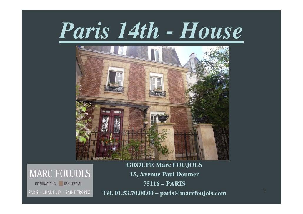 PARIS HOUSE FOR SALE INDOOR SWIMMING POOL, GARDEN, BRIGHT, QUIET