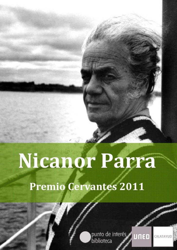 NicanorParra,PremioCervantes2011NicanorParra    PremioCervantes2011Página1de20