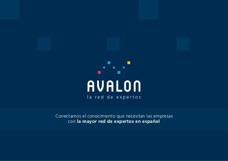 Conectamos el conocimiento que necesitan las empresas     con la mayor red de expertos en español