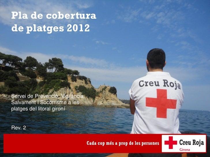 Dossier Pla cobertura de platges 2012