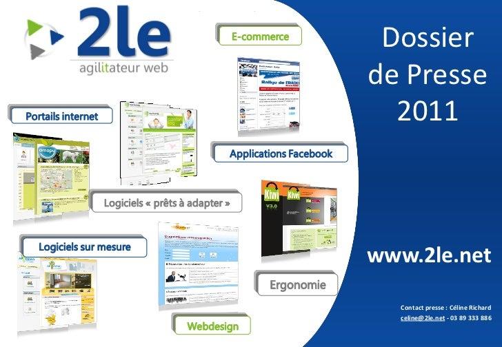 2le  Logiciels Libres pour l'Entreprise  Dossier de presse 2011                                                         ...