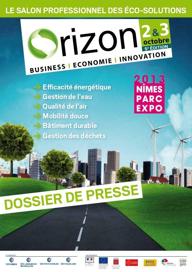 Le salon professionnel des éco-solutions Conceptionidentitévisuelle:MGTQuidam-CréditPhoto:Fotolia > Efficacité énergétique...