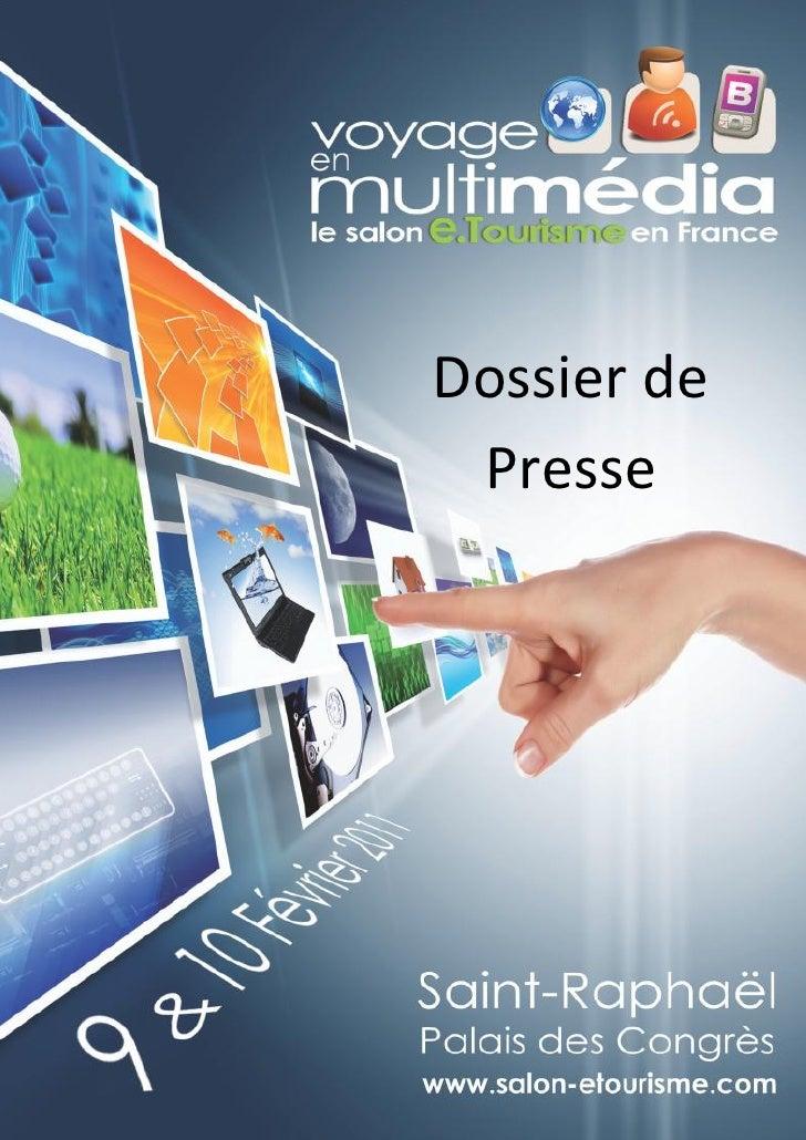 Voyage en Multimédia 2011 - dossier de presse