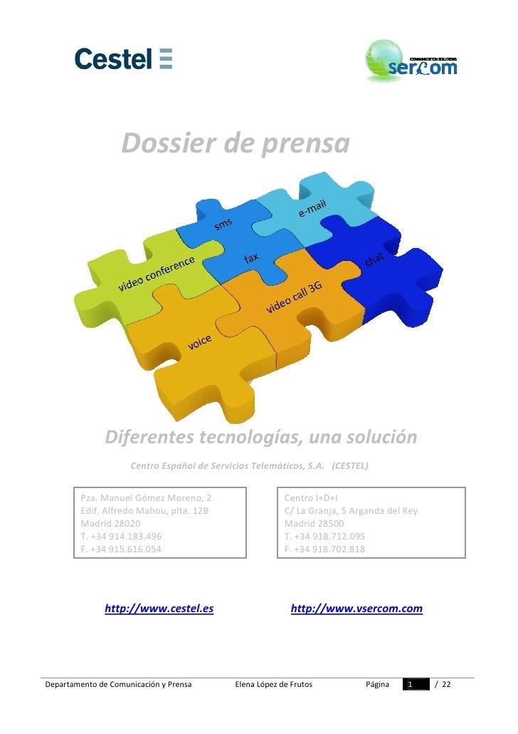 Dossier Prensa Sercom