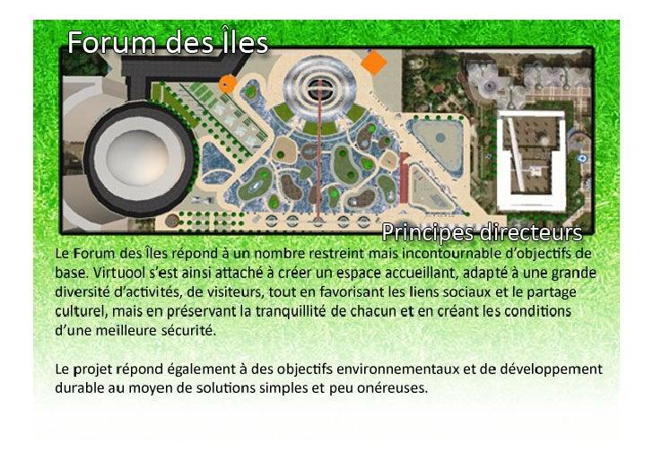 POURQUOI TU COURS et le JARDIN DES HALLES (dossier gagnant du concours second life)