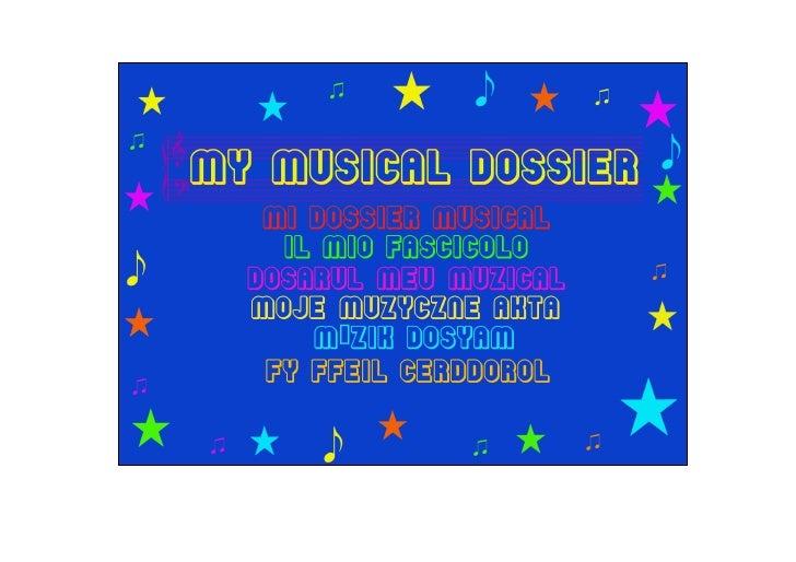Dossier musical English-Spanish