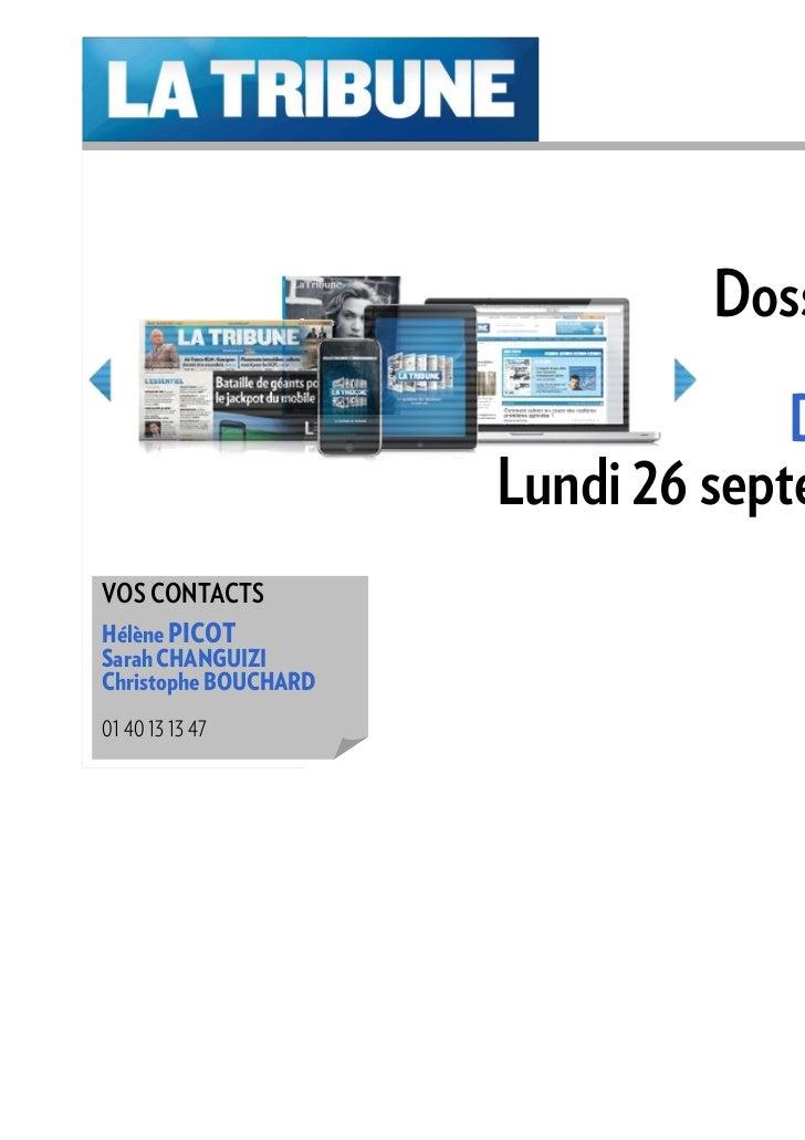 Dossier special Jeunes Diplômés 26 septembre 2011