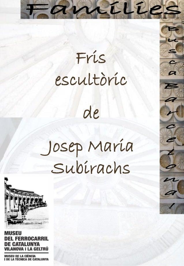 Dossier informatiu JM Subirachs al Museu del Ferrocarril de Catalunya cat pdf
