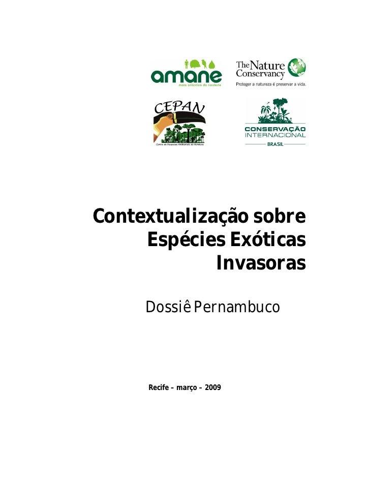 Espécies invasoras de Pernambuco