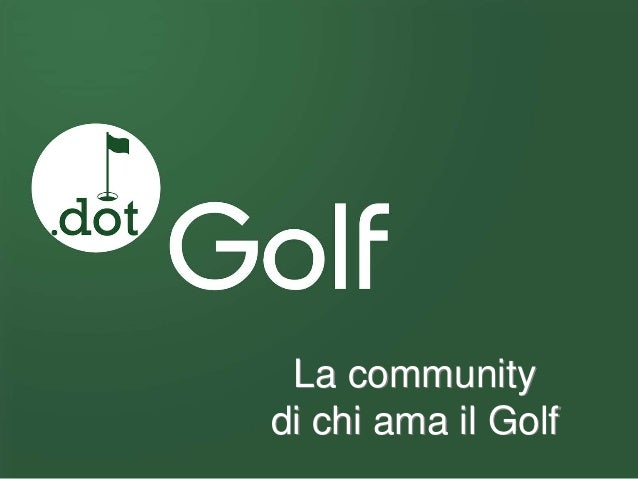 La community di chi ama il Golf
