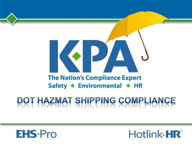 KPA – Company Profile • Nationwide compliance expert on Safety, Environmental, HR • Colorado Headquarters • 23 Years Exper...