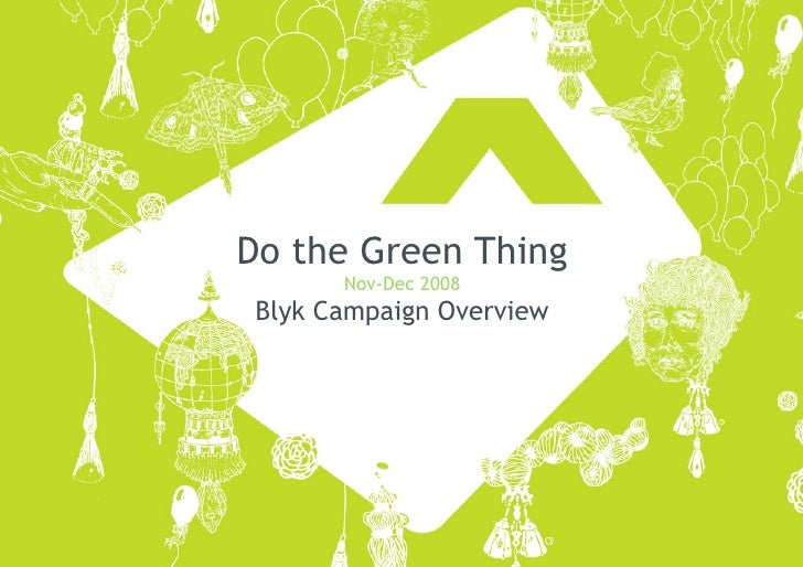 Do The Green Thing Case Study Full