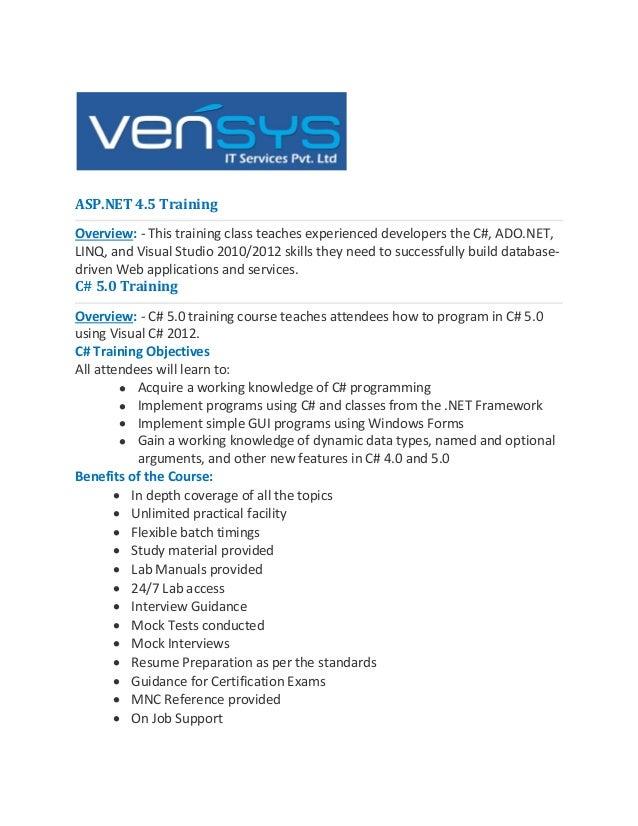 Dot net Training ,asp.net training,c# training,DOT NET Corporate Training