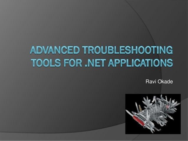 Dot Net Application Monitoring