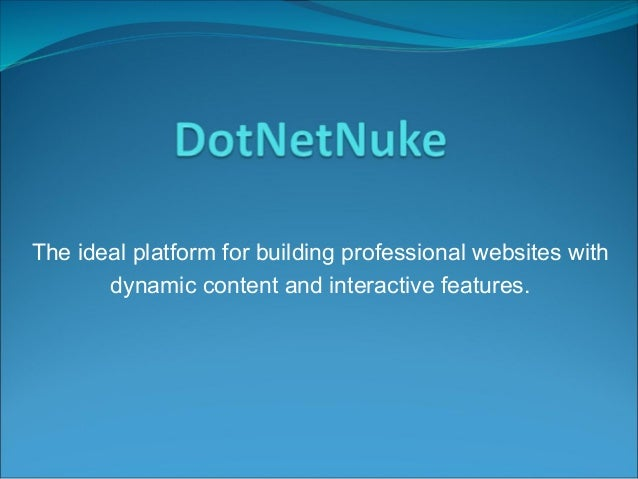 The ideal platform for building professional websites with dynamic content and interactive features.