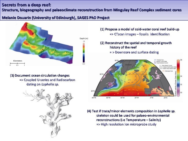 Secrets from a deep reef:Structure, biogeography and palaeoclimate reconstruction from Mingulay Reef Complex sediment core...