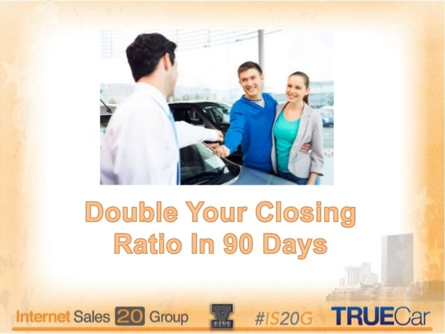 What is your current closing ratio?