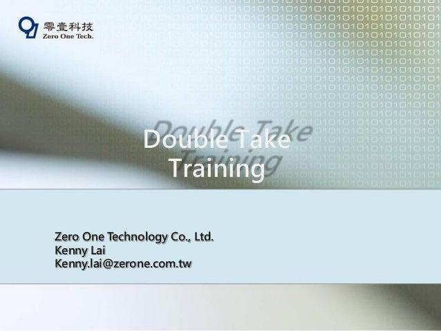 Double take 6.0 實機體驗營