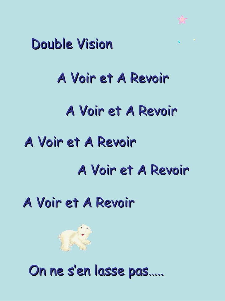 Double Vision2 Amante