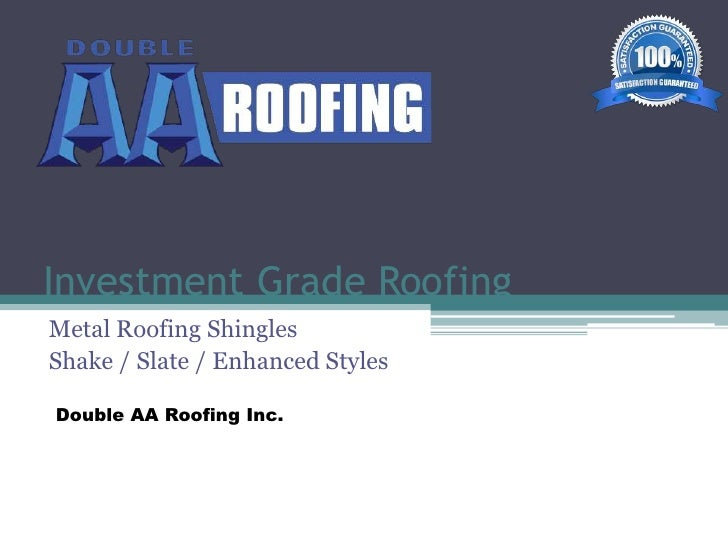Why Install Metal Roofing?