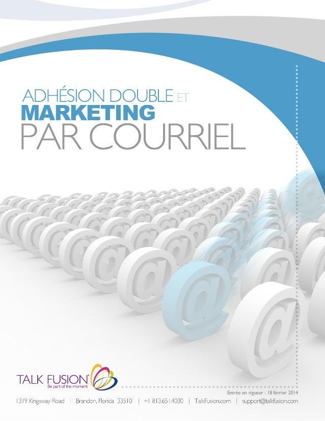Le marketing direct par courriel ou le marketing par courriel, peut être un canal puissant et rentable pour toute entrepri...