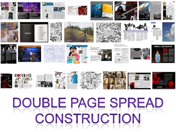 Double Page Spread Construction - AMPLIFY