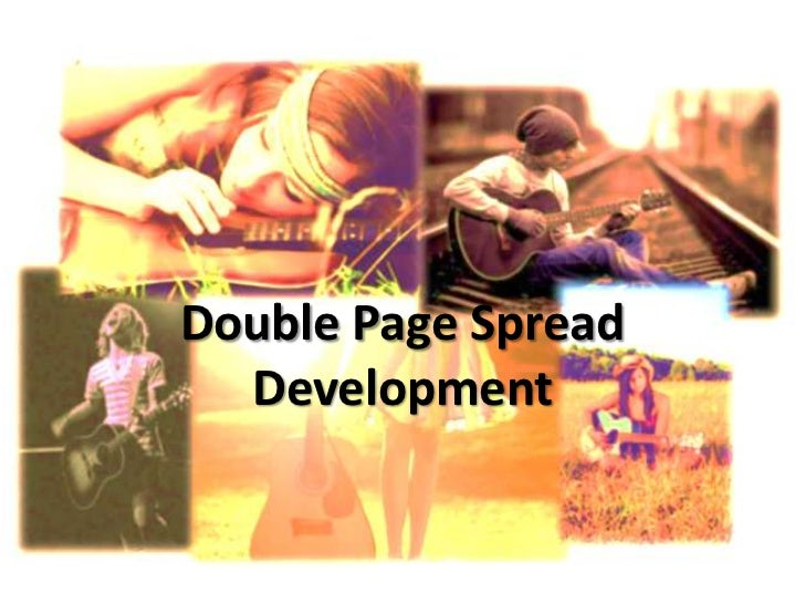 Double Page Spread Development<br />