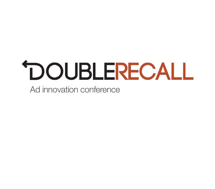 DoubleRecall, A new form of brand advertising @ Y Combinator's Ad Innovation Conference