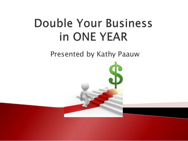 Presented by Kathy Paauw