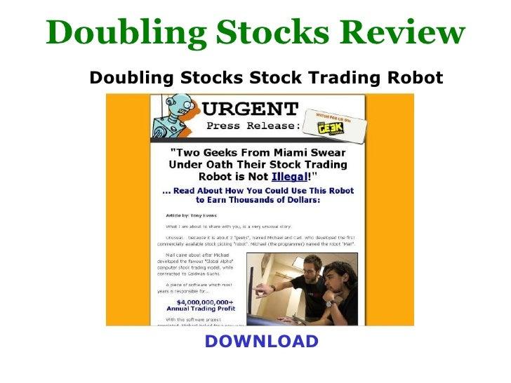 doublingstocks stock trading robot