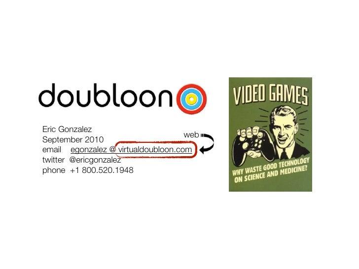 Doubloon Company Presentation