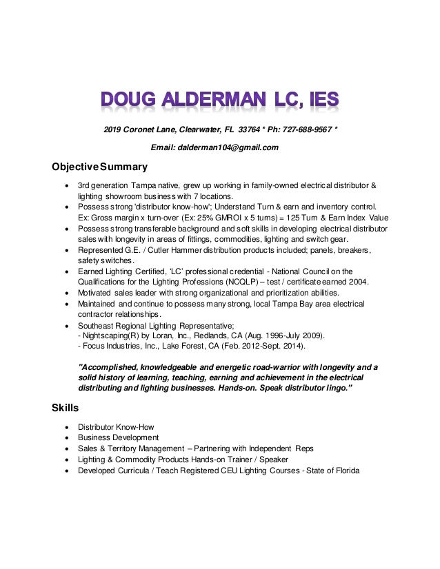 Dock building resume