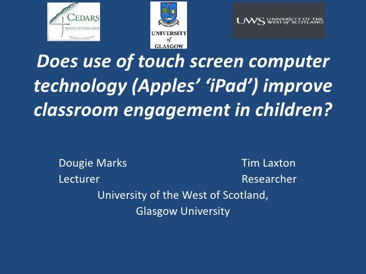 Douglas Marks iPad Research